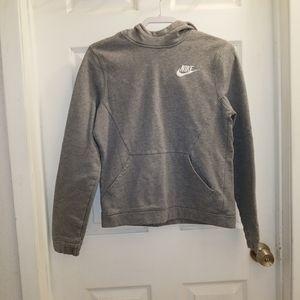 Nike womens' l/s pullover hoodie EUC